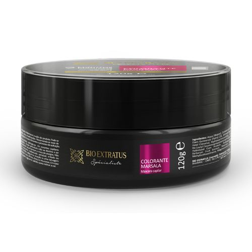 Máscara Colorante Marsala 120g