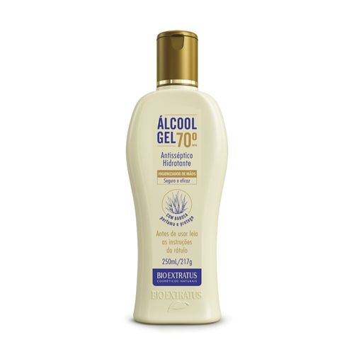 Álcool Gel 70° 250mL
